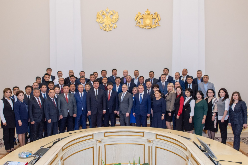Тюменскую область посетила представительная делегация Киргизской Республики
